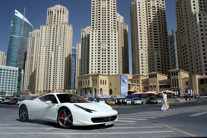 A Ferrari In Dubai Is Cheaper Than A Segway