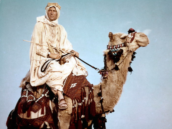 "The Academy of Motion Picture Arts and Sciences will present the U.S. premiere of a new digital restoration of Columbia Pictures' 1962 Best Picture winner ""Lawrence of Arabia"" on Thursday, July 19, at 7:30 p.m. at the Samuel Goldwyn Theater in Beverly Hills. Pictured: Peter O'Toole in a scene from LAWRENCE OF ARABIA, 1962."