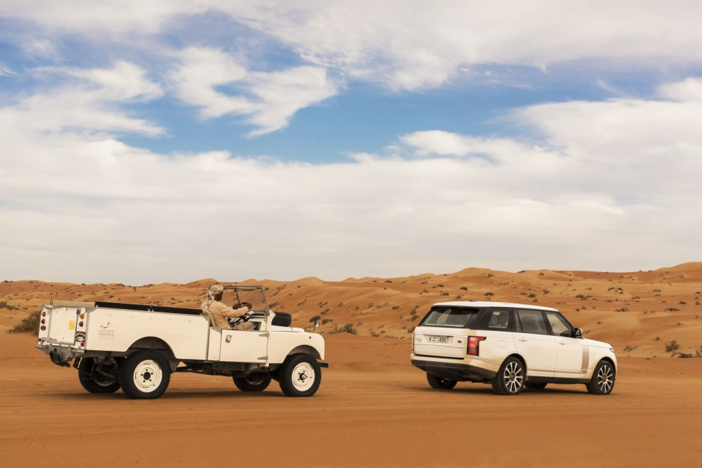 Land Rover joins Platinum Heritage Dubai as Official Adventure Partner in U.A.E.