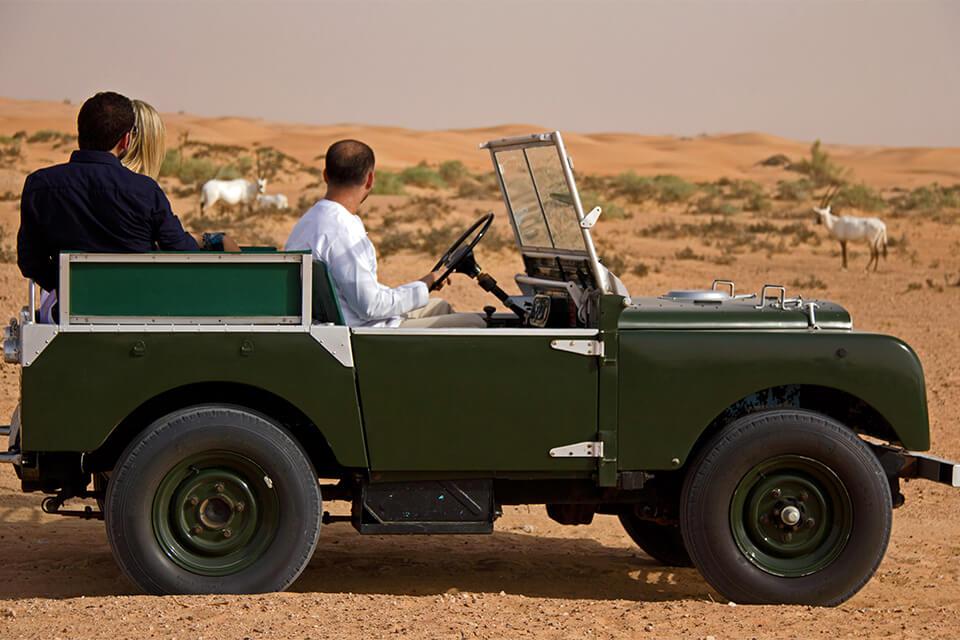 Heritage Desert Safari Dubai In Vintage Land Rovers