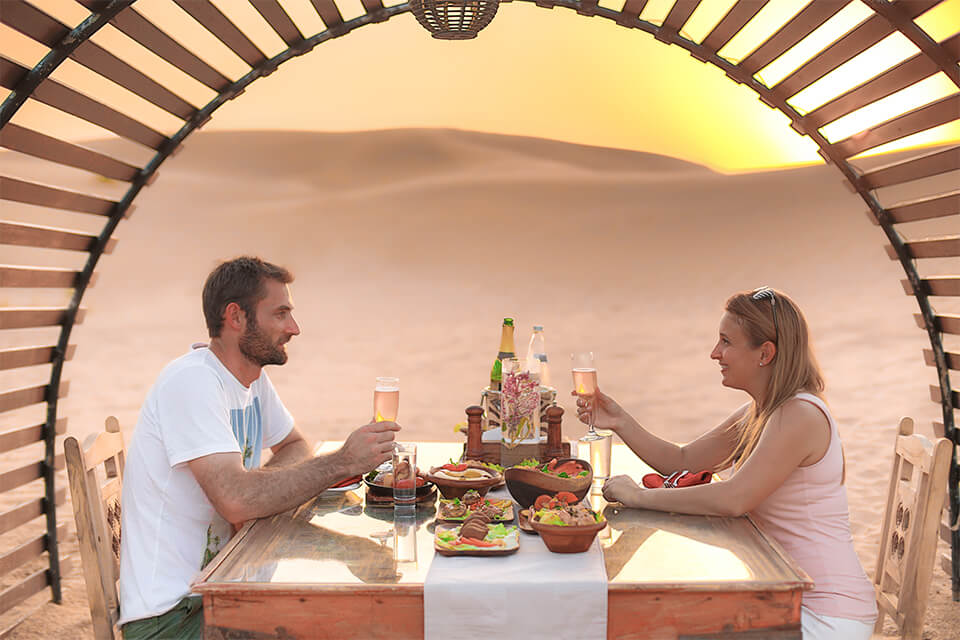 Valentines Day Dubai Romantic Hot Air Balloon Ride