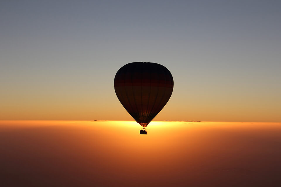 Hot air balloon experiences dubai