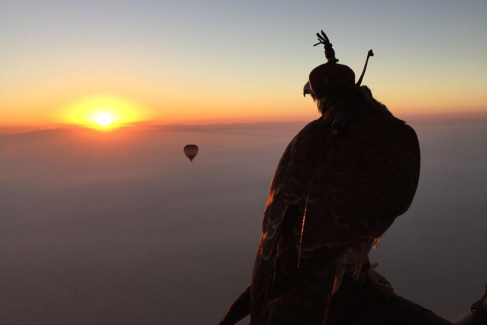 Overnight Desert Safari And Sunrise Hot Air Balloon Ride