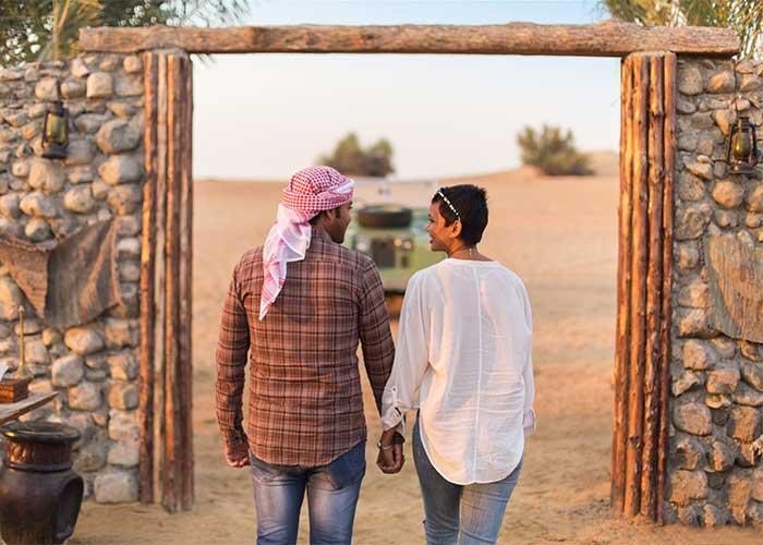 Dubai Romantic Desert Getaway