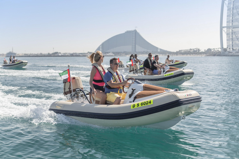 hero odysea self drive boat tour of dubai s famous coastline