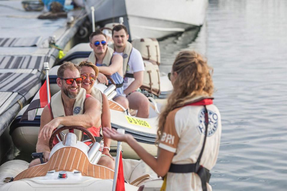 HERO Boat tour briefing