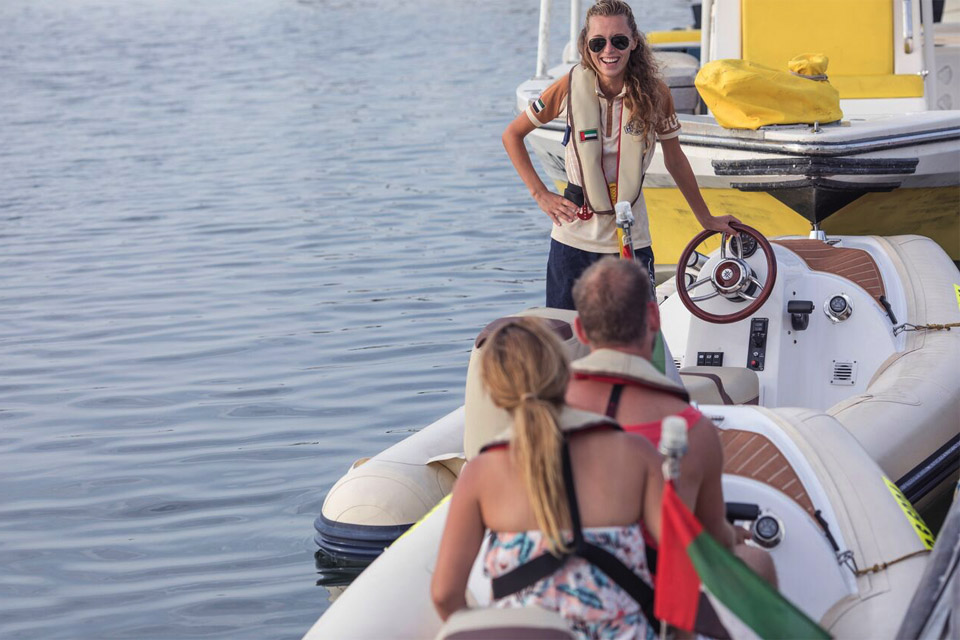 Hero Boat Tour Dubai - drive a boat