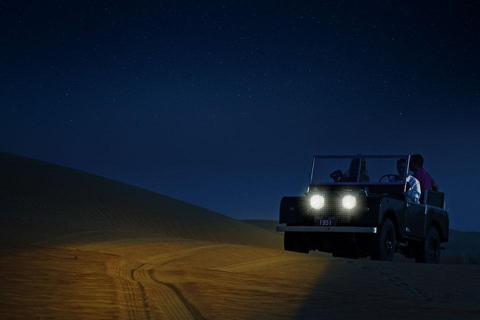 Land-Rovers-Night