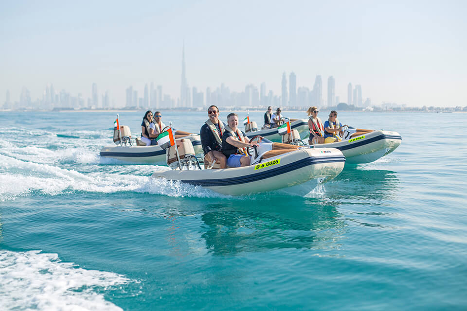 HERO OdySEA Self-drive boat tour dubai