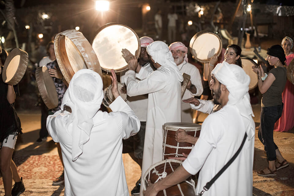 Arabic Drumming