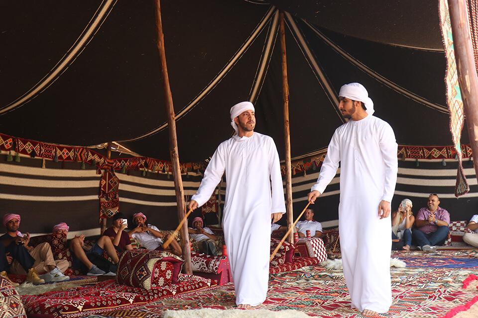 Dubai Desert Heritage Bedouin