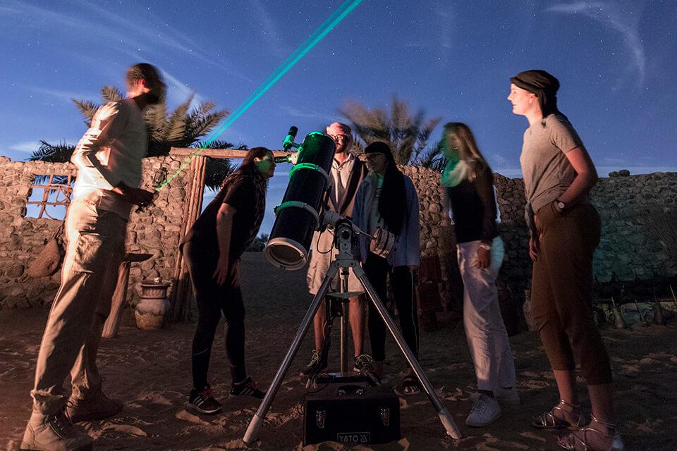 Night Desert Safari with Astronomy