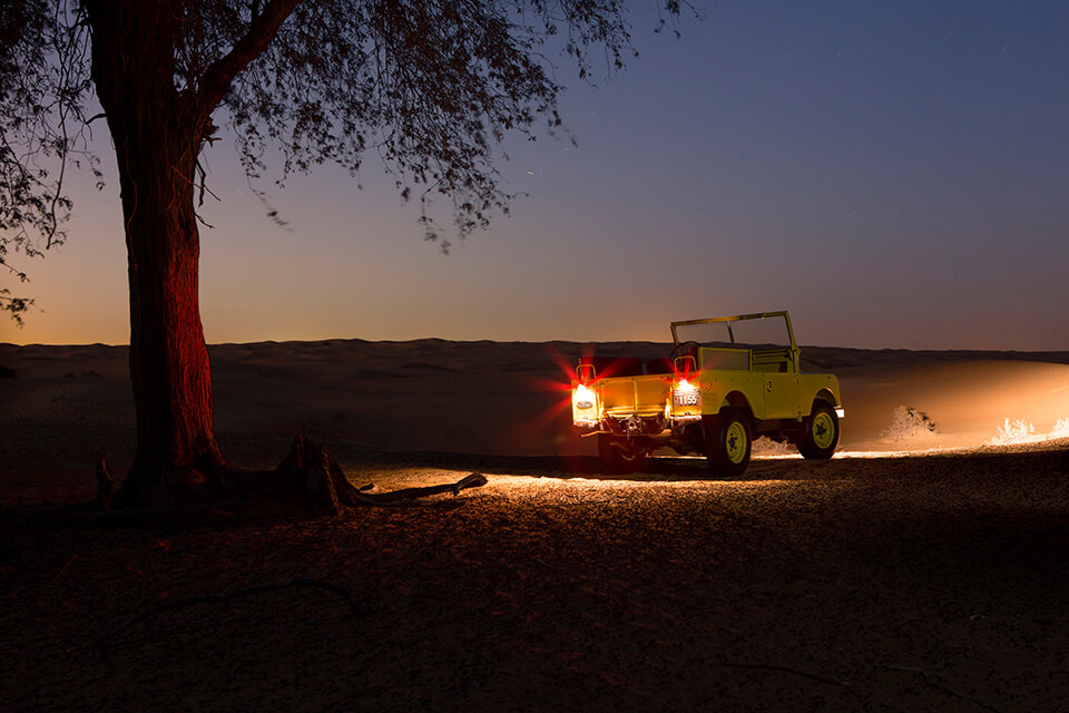 Night Heritage Desert Safari