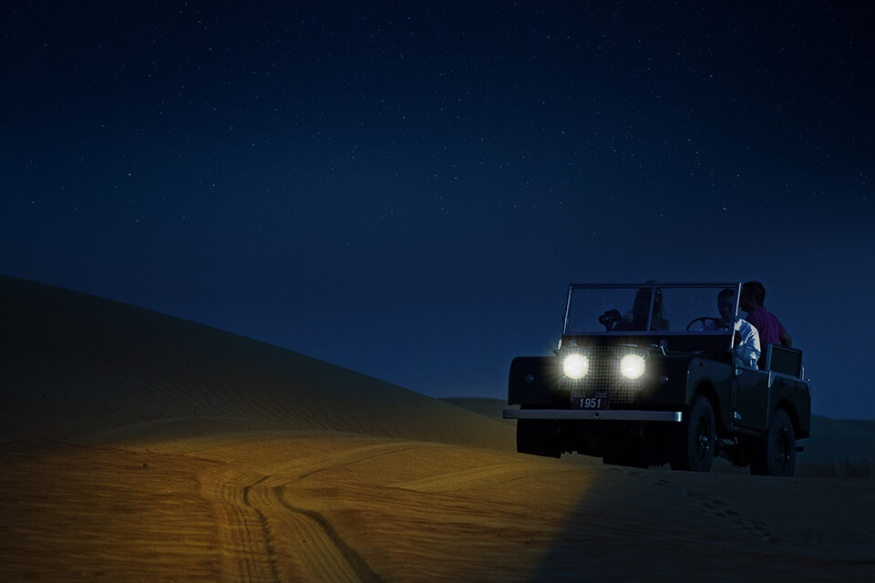 Night Heritage Desert Safari
