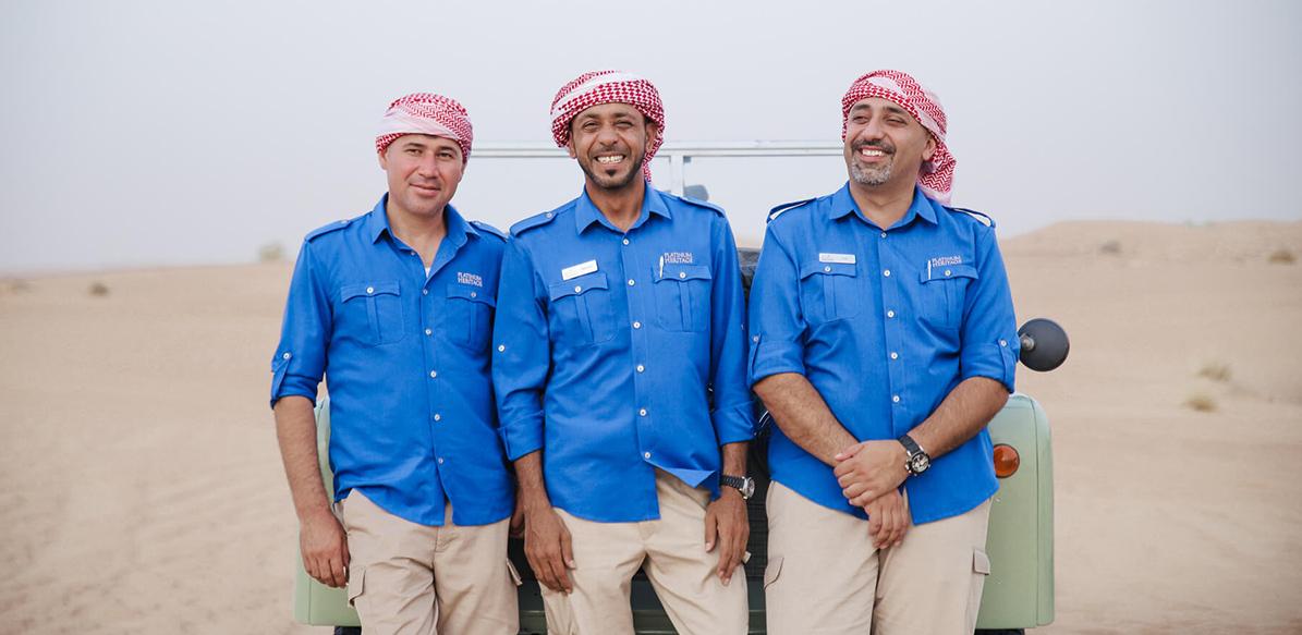 Dubai Desert Conservation Guides