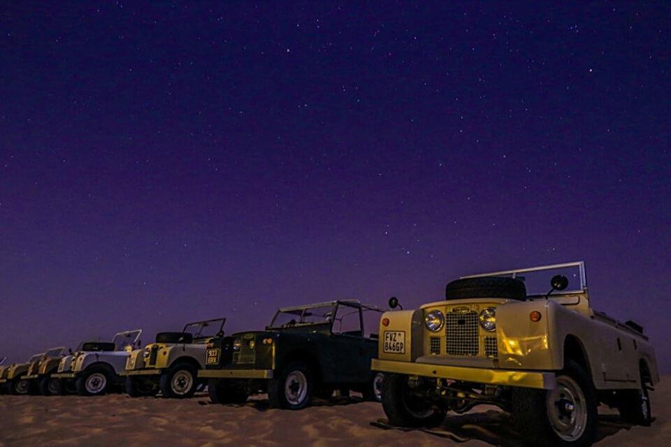 Vintage Land Rover Fleet