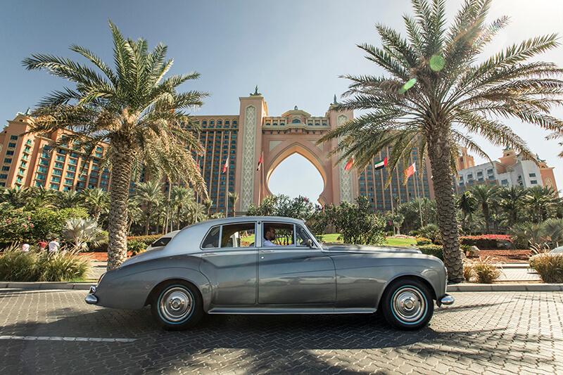 Bentley Dubai Palm Tour