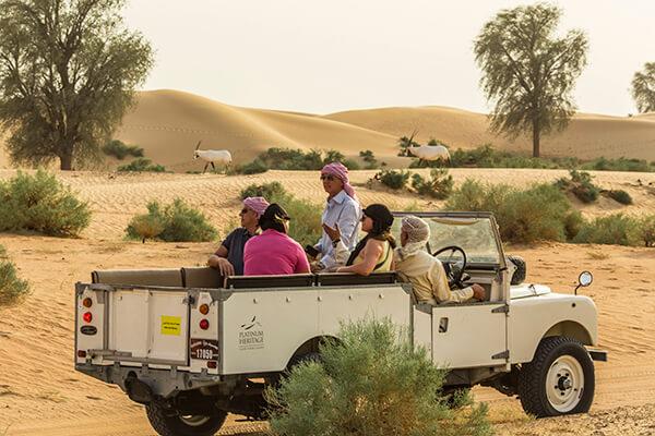 Heritage Desert Safari Dubai Wildlife