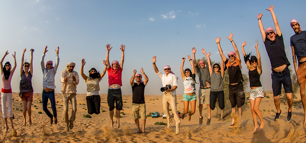Team Building In Dubai Desert