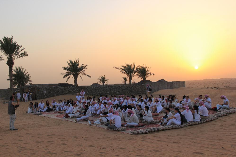 Team Building in Dubai Desert