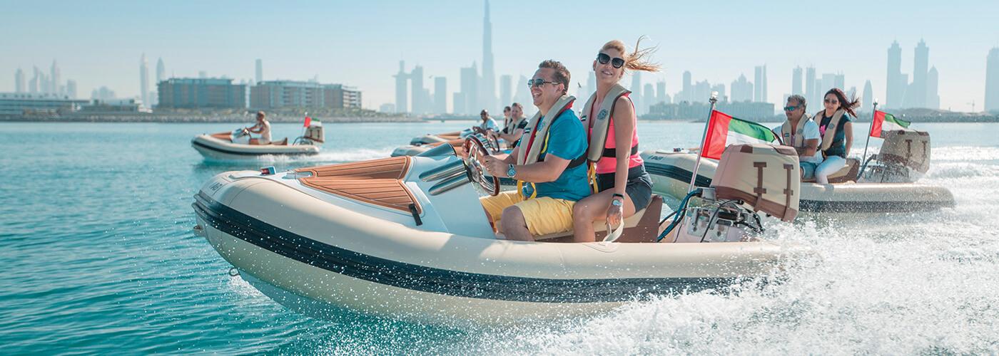 2 HERO Boat Tour Dubai