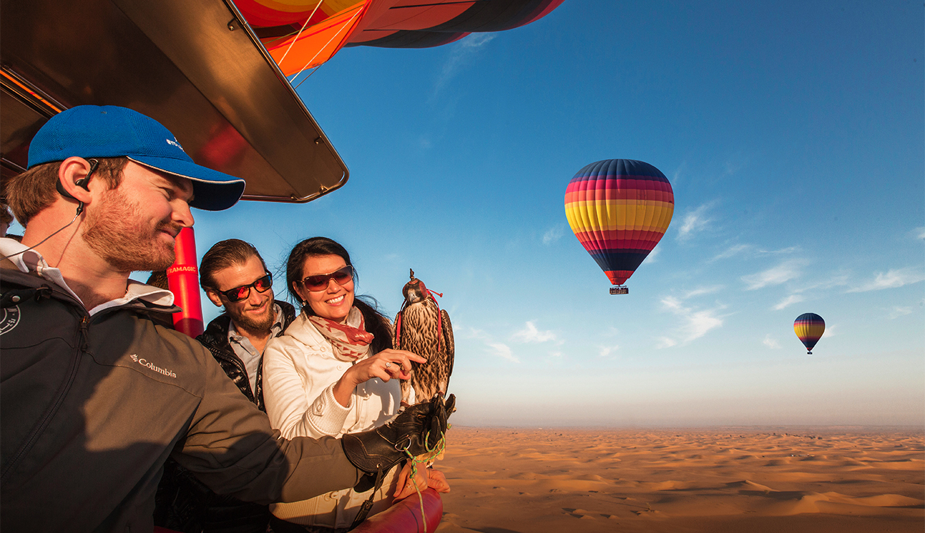 Hot air ballooning dubai