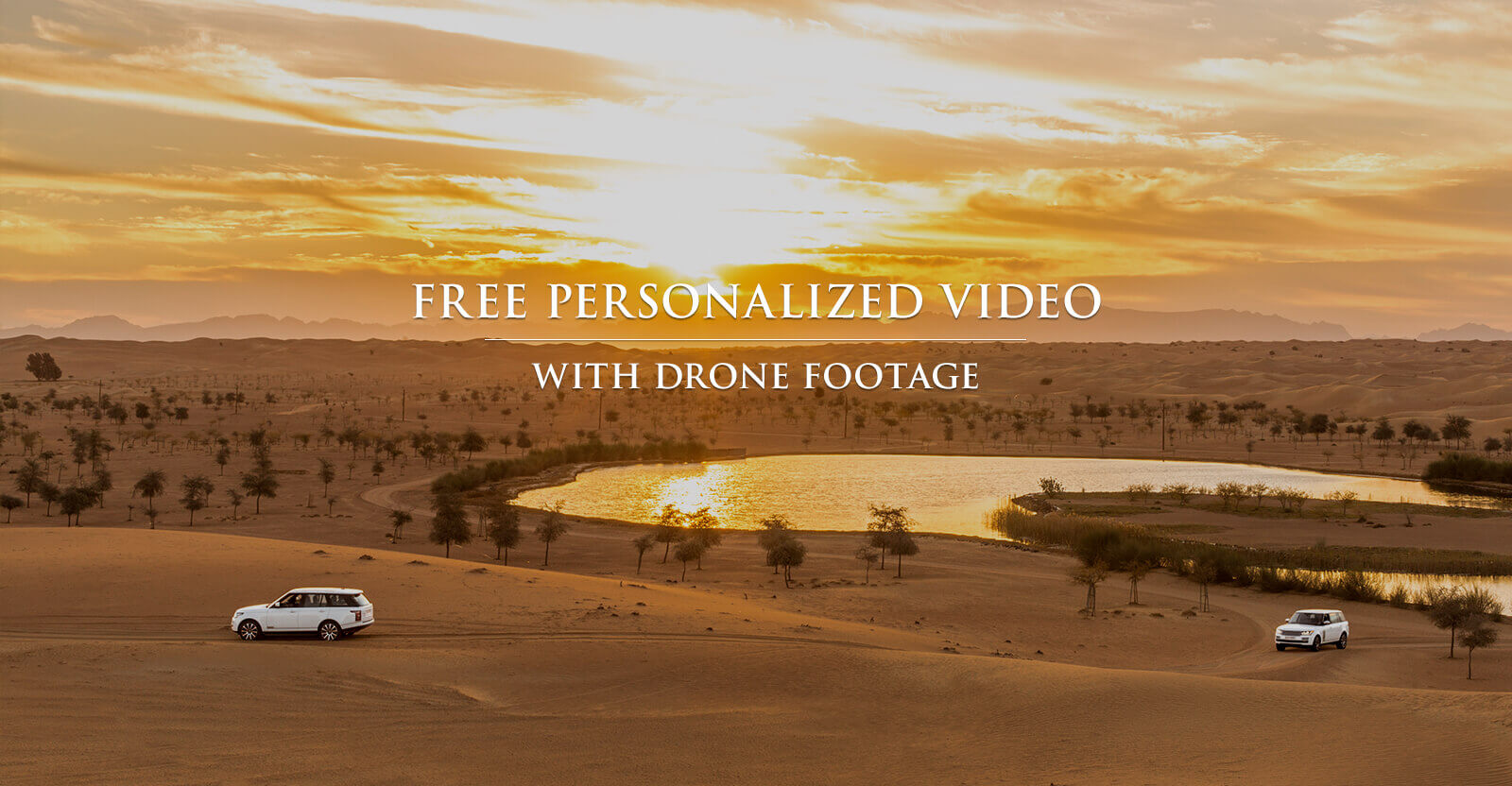 Free desert safari video for advance bookings - Platinum Heritage