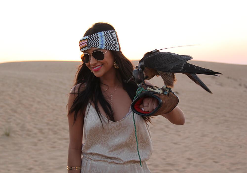 shay with patinum heritage desert safari
