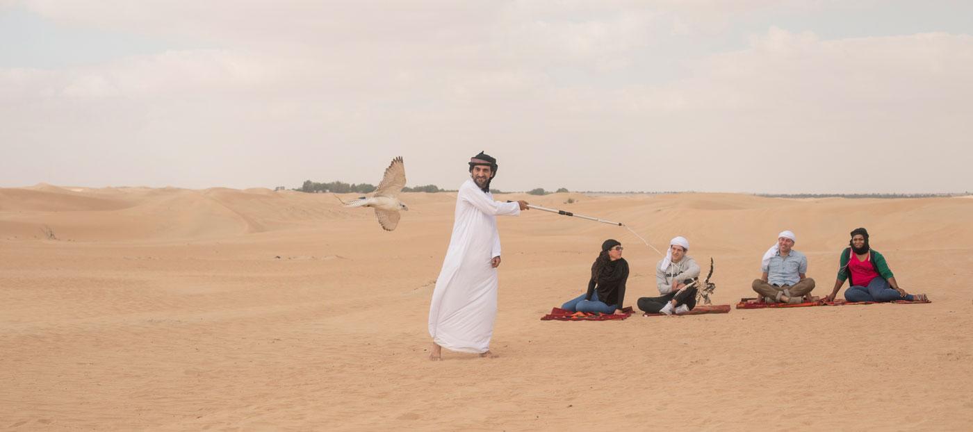 Dubai Bedouin Falconry