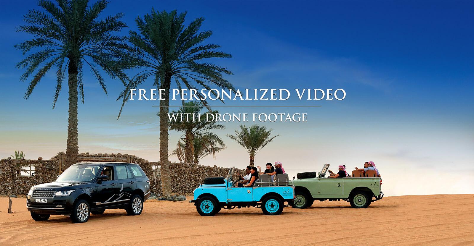 Myconcierge Free Desert Safari Video