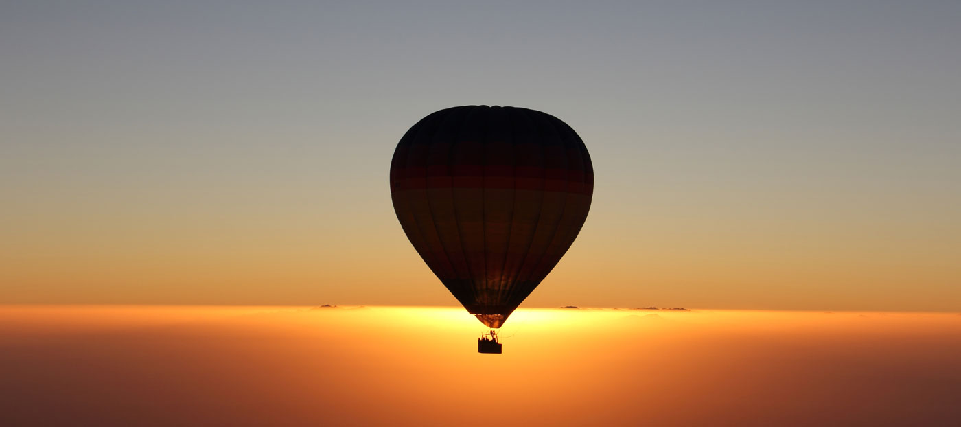 Sunrise hot air balloon Dubai