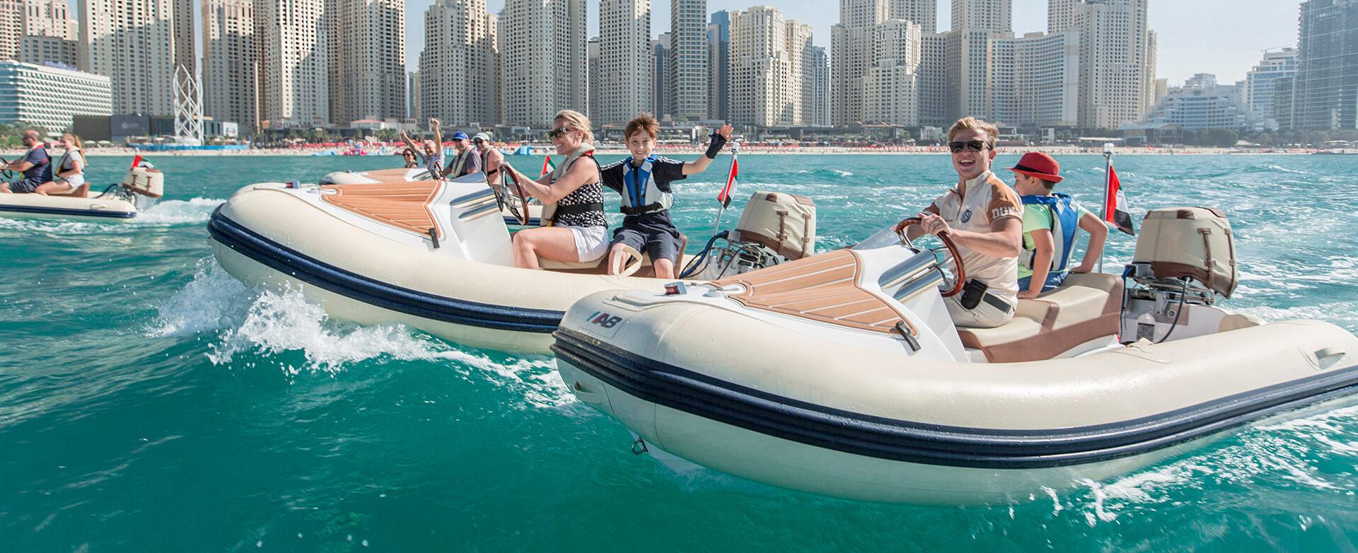HERO Boat Tour Dubai
