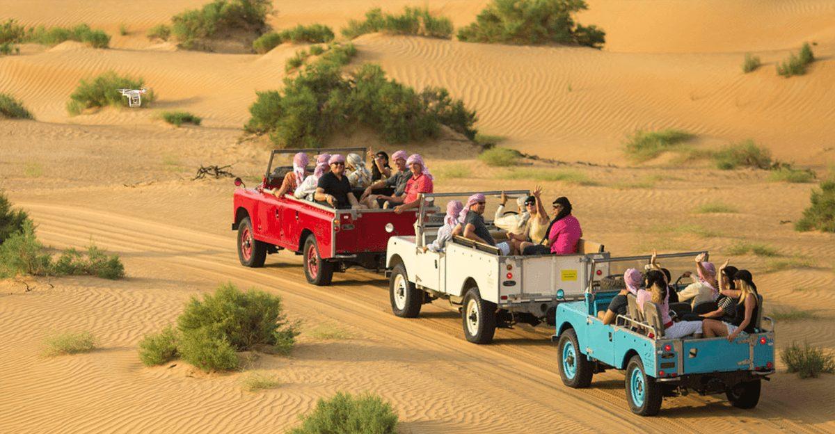 Bénéficiez d'une vidéo gratuite immortalisant votre Safari dans le Désert