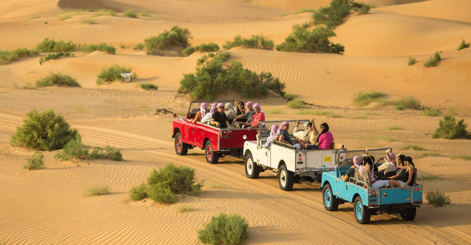 Online Aktion: Gratis Video Ihrer Dubai Wüstensafari