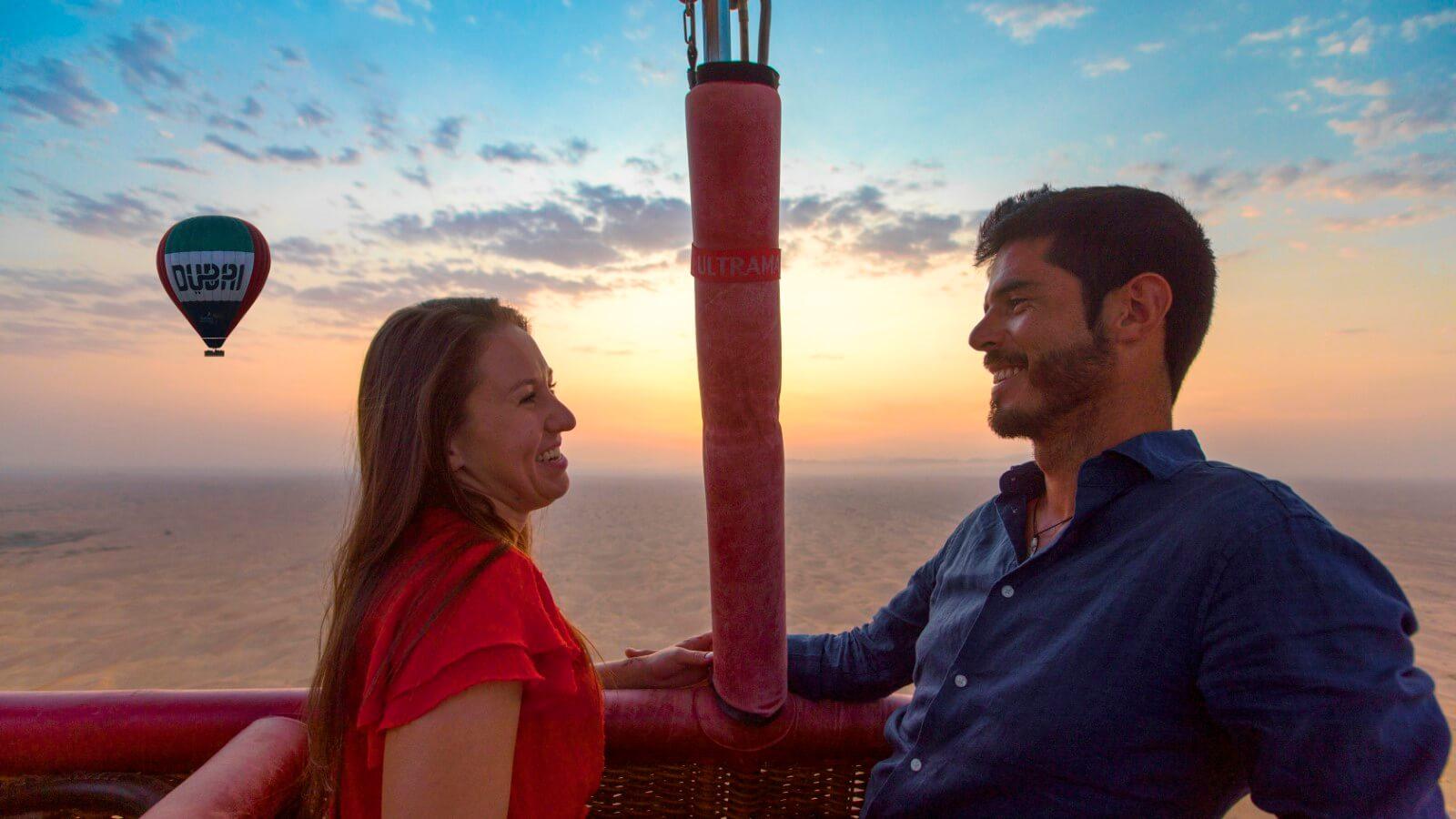 Private Couple Hot Air Balloon Dubai