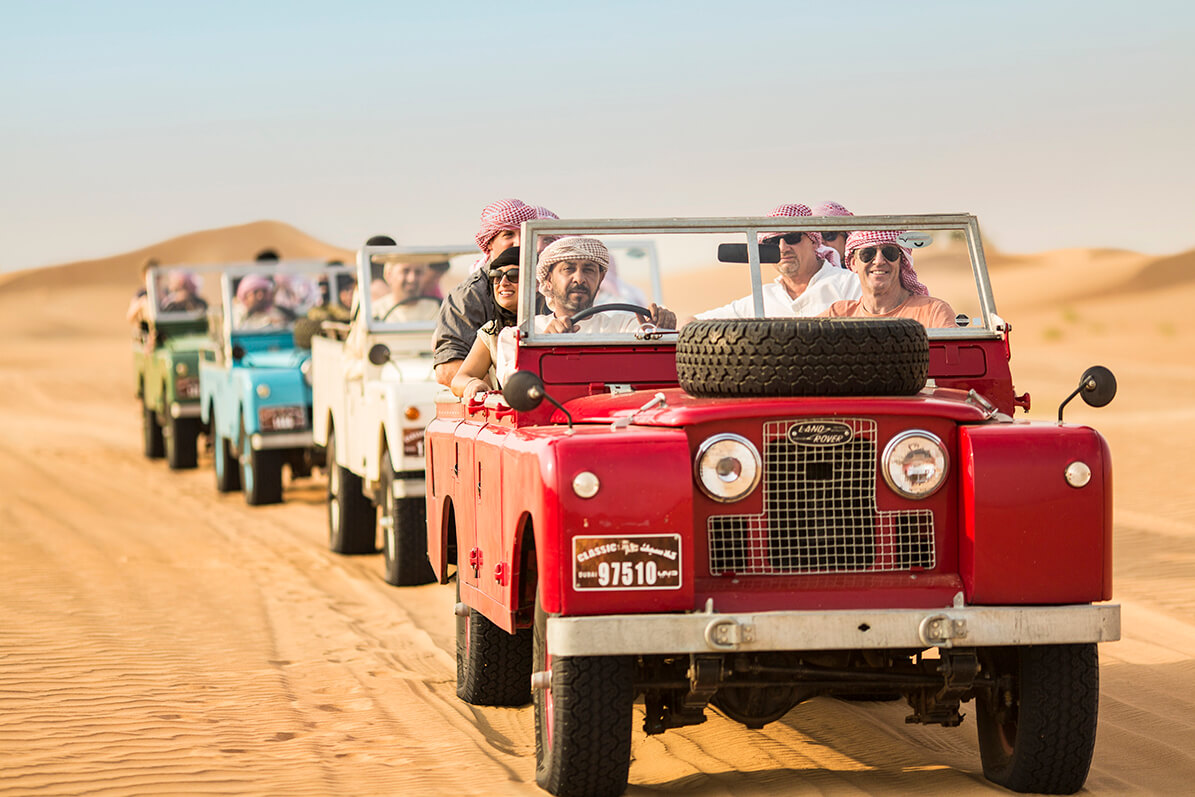 Dubai Bucket List Hot Air Ballooning - Platinum Heritage