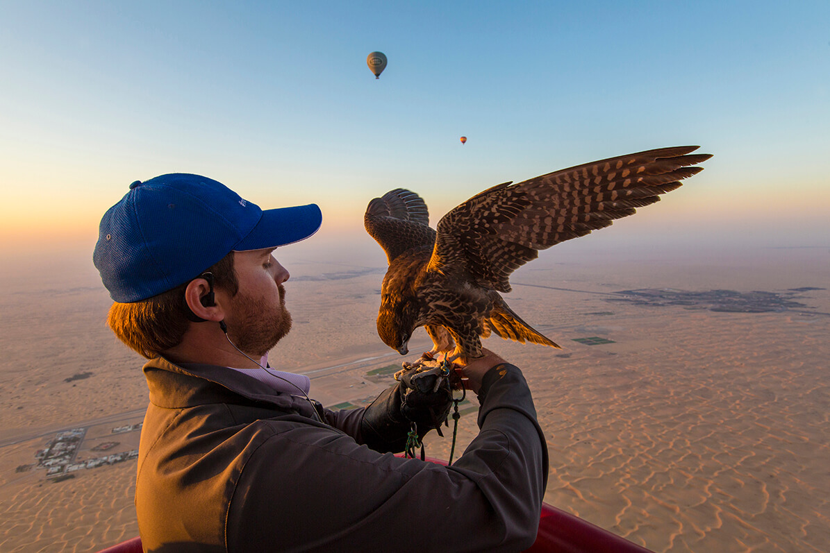 Dubai Bucket List Hot Air Ballooning - Platinum Heritage