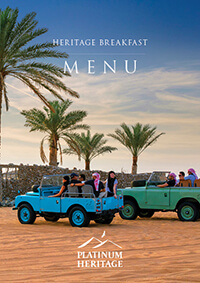 Food on Desert Safaris in Dubai | Platinum Heritage