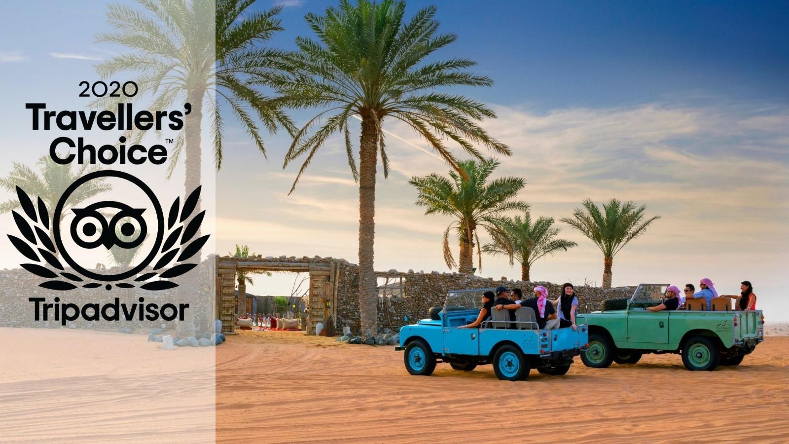 Platinum Heritage wins 2020 Tripadvisor Travellers' Choice Award.