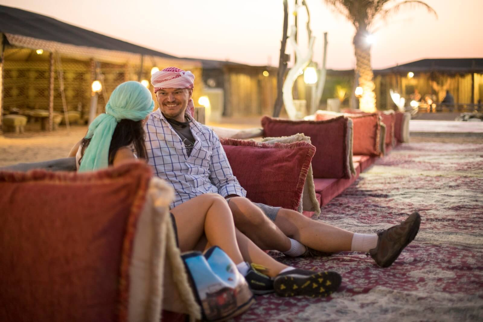 Dubai mountain and desert safari