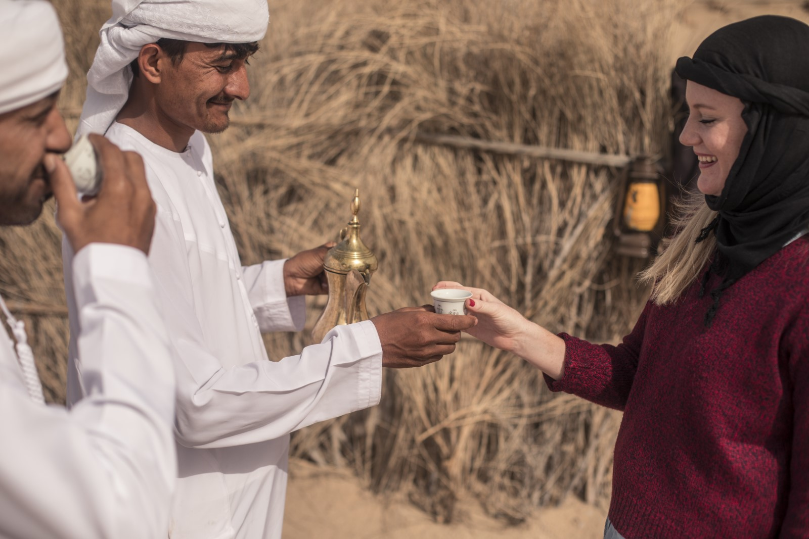 Bedouin Breakfast and Love Lakes desert safari
