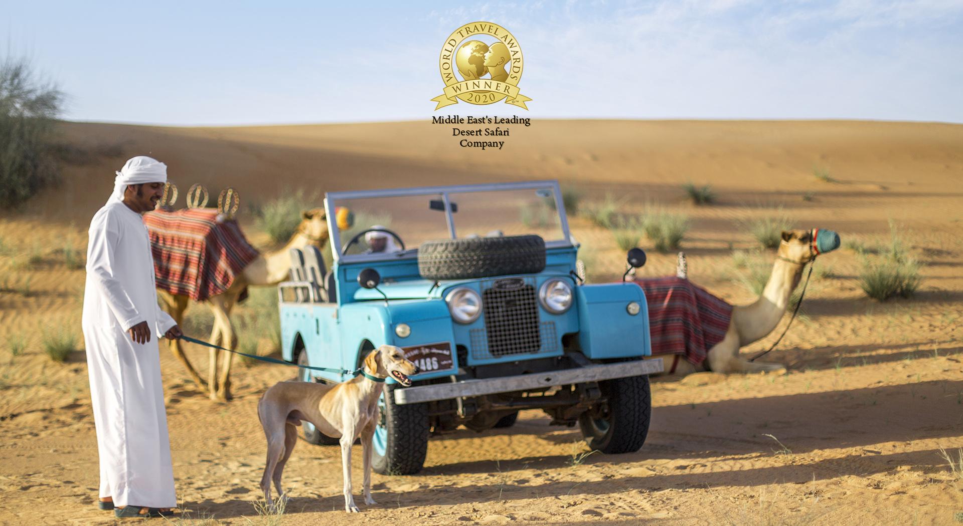 PLATINUM HERITAGE AWARDED MIDDLE EAST'S LEADING DESERT SAFARI COMPANY BY WORLD TRAVEL AWARDS
